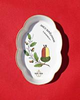 1939-es jubileumi Herendi porcelán tálka