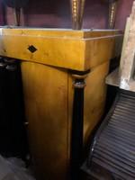 Biedermeier oszlopos 1ajtós szekrény