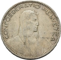 Svájc 1923 5Frank!!! RR