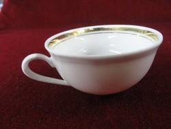 Német porcelán kávéscsésze, 001/2 sorszámú.