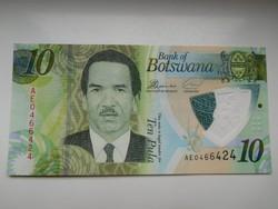 Botswana 10 pula 2018 UNC  polymer