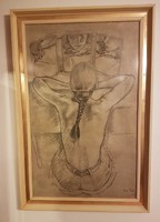 Francine Van Hove Francia festő Tükörkép, 5 napig
