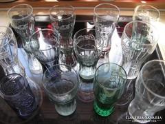 12 db-os Coca-Cola pohár gyűjtemény