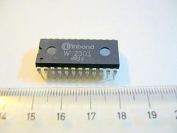 WINBOND WE2301 IC -talán Serial+Parallel Controller antik darab '89-ből-MPL csomagautomatába is