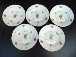 Herendi tányérok ( 5 darab )