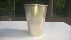 Ezüst keresztelőpohár 25 g  szép kis db