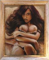Női Akt Olaj Festmény