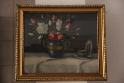 Csapó Jenő - Csendélet csészével