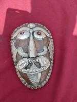 Antik Tibeti unikális maszk.