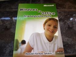MICROSOFT WINDOWS ÉS OFFICE FELADATGYŰJTEMÉNY könyv-MPL csomagautomatába is mehet
