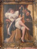 Geiger Richárd festmény