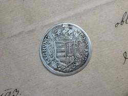 Rákóczi ezüst Forint, féltallér, fél tallér,1706 KB, XF / sehr schön / III +/ II-