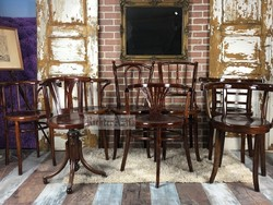 Felújított, restaurált Thonet székek