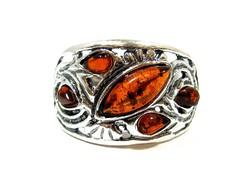 Ezüst gyűrű(kecs-Ag79478)