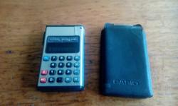 Retro Casio Mini Pocket ledes számológép