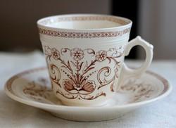Villeroy  Boch Mettlach Adele fajansz teás szett