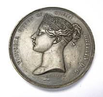 1862. Angol nemzetközi kiállítás emlékérem.