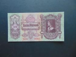 Csillagos 100 pengő 1930 aUNC Hajtatlan bankjegy