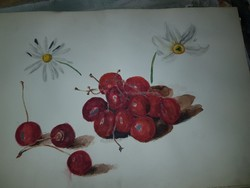 Egy régi rajzalbum gyönyörű, játékos, keretezhető akvarelljei, és sok kicsi grafika