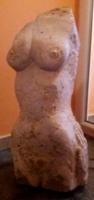Női akt - fragmentum
