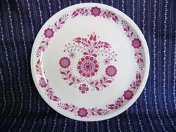 A02 Alföldi nagyméretű falitányér, süteményes- kínáló tányér