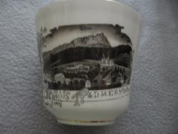 Gyűjtői Radmer Hieflau emlék csésze