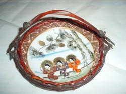 Antik kis kínai kézifestésű tálka