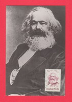 Carte Maximum - Karl Marx 1968 (070)