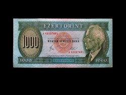 """1000 FORINTOS -  LEGELSŐ SZÉRIÁBÓL - 1983 """"A"""""""