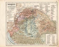 Magyarország a bécsi béke korában (2), térkép, kiadva 1913, történelmi, 1606, Kogutowicz Manó, régi