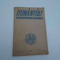 Horthy Eredeti Ritka Dunántuli szemle 1941 Kőszeg, Szombathely,Keszthely helytörténeti ritkaság