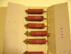 120R 120OHm 5W HUZAL ELLENÁLLÁS -f2-MPL csomagautomatába is mehet-sima postával is