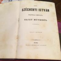Gróf Széchenyi István:Politikai Iskolája I.II.III.korabeli kötet egyben