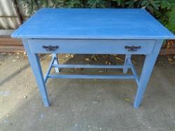 Görög kék konyha-asztal