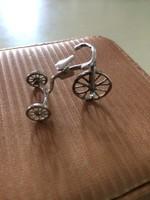 Antik Ezüst Miniatűr Háromkerekű Bicigli Eladó & Csere LEÁRAZVA !