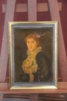 Hans Canon - Női portré