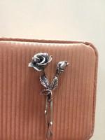 Antik Ezüst Rózsa Virágcsokor Eladó Vagy Csere Is LEÁRAZVA