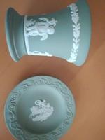 Wedgewood jasperware kis tányér + serleg