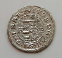 I.Lipót Krajcár 1677 KB ezüst