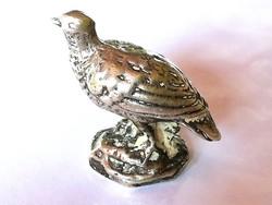 Régi ezüst madár (miniatűr)