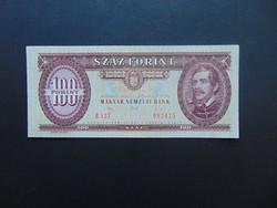 100 forint 1992 B 527 Nagyon szép ropogós bankjegy !