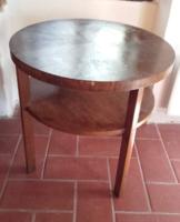 Antik art deco szalon asztal