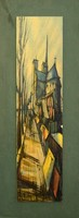 Francis Depresle modern kép, nyomat 22x60cm
