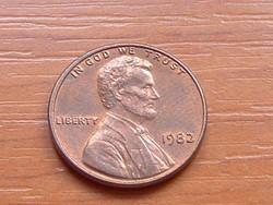 USA 1 CENT 1982