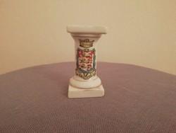 Mini angol posztamens, gyűrűtartó