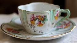 KG Luneville francia fajansz teás szett
