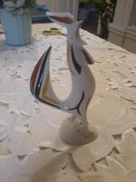 Hollóházi porcelán kakas