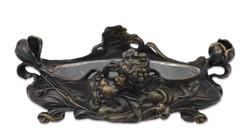 Szecessziós -art nouveau vas virágtartó-kaspó