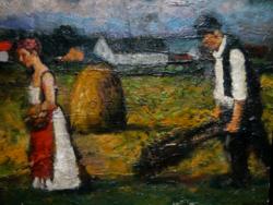 Eredeti Koszta József festmény
