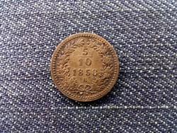 Ausztria Ferenc József 1/2 Krajcár 1858 B/id 10300/